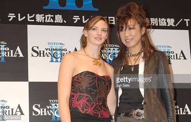 """Yumi Matsutoya and Virginie Dedieu, synchronized swimming world champion """
