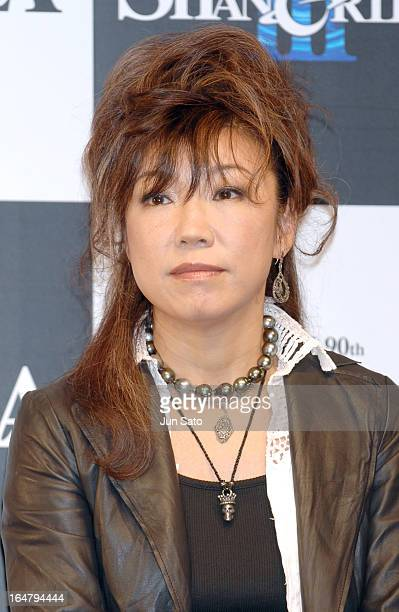 """""""Yumi Matsutoya during TOTO 90th Anniversary """"""""YUMING SHANGRILA V"""""""" Press Conference at ANA Hotel Tokyo in Tokyo, Japan. """""""