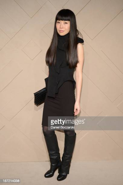 Yumi Minamikurosawa attends the Burberry launch of the Chicago flagship store on November 29 2012 in Chicago Illinois