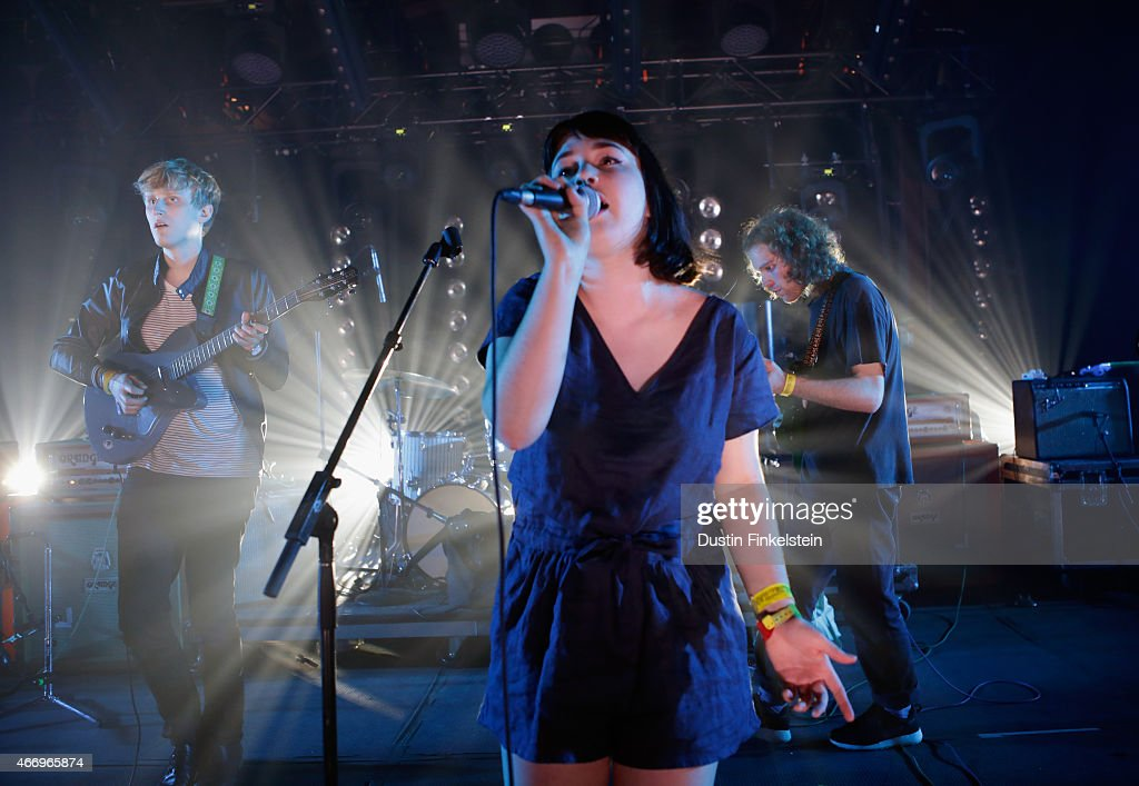 Yumi Zouma performs onstage at the Hype/Gorilla vs. Bear showcase during the 2015 SXSW Music, Film + Interactive Festivale at Hype Hotel on March 19, 2015 in Austin, Texas.
