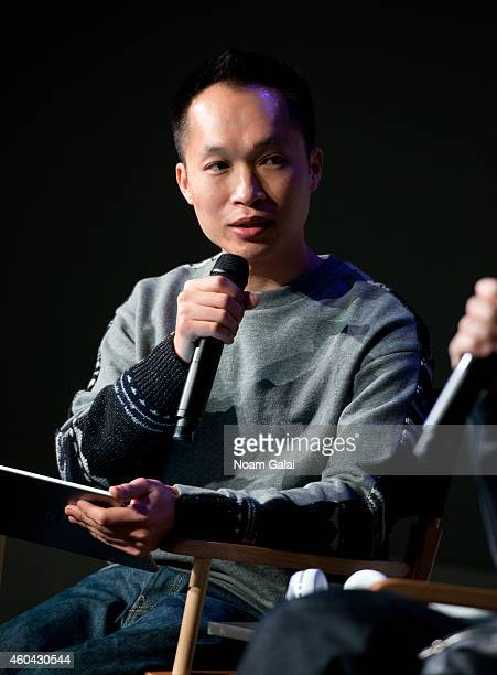 YuMing Wu of Freshness Mag attends 'Meet The Designer' at Apple Store Soho on December 13 2014 in New York City