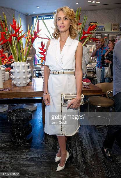 Yuna Megre celebrate the launch of Regime des Fleurs perfume at Kelly Wearstler Flagship Boutique in Los Angeles with PerrierJouet and Compartes...