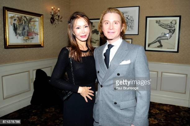 Yung Hee Kim and Eric Javits attend In Celebration of the life of Lee Mellis at 21 Club on November 14 2017 in New York City