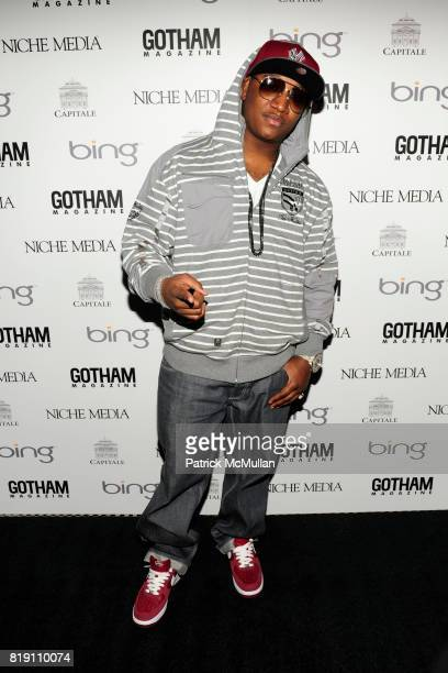 Yung Joc attends ALICIA KEYS Hosts GOTHAM MAGAZINES Annual Gala Presented by BING at Capitale on March 15, 2010 in New York City.