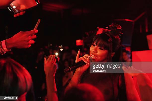 Yung Miami performs onstage at Alex Wang's Big Trouble In Little China At The Rainbow Room Powered by Cash App on February 9 2019 at The Rainbow Room...