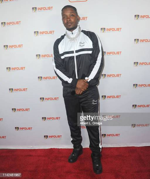 Yung Muusik arrives for INFOListcom Hosts PreCannes Soiree held at SkyBar at the Mondrian Los Angeles on May 8 2019 in West Hollywood California