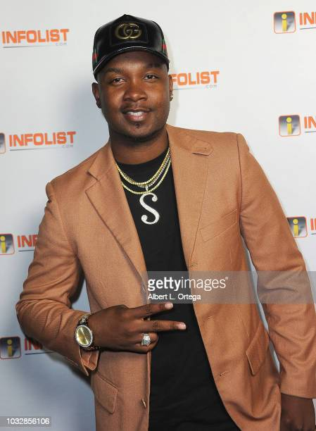 Yung Muusik arrives for the INFOListcom PreEmmy Soiree held at SkyBar at the Mondrian Los Angeles on September 12 2018 in West Hollywood California