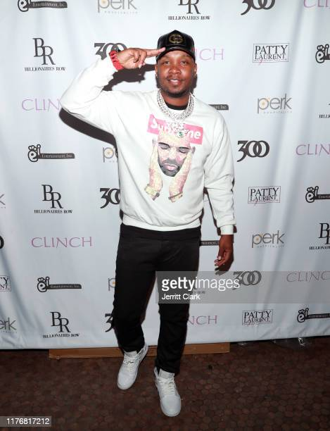 Yung Muusik attends Agnez Mo Celebrates The Release Of Her New Single Diamonds Featuring French Montana at Poppy on September 23 2019 in Los Angeles...