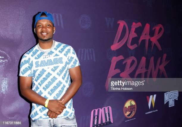Yung Muusik attends the MaMe Mogul Productions Webber Films Muddy Water Films Presents Dear Frank movie premiere starring Brian White Claudia Jordan...