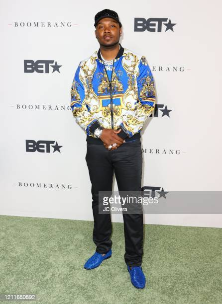 Yung Muusik attends the premiere of BET's Boomerang Season 2 at Paramount Studios on March 10 2020 in Los Angeles California