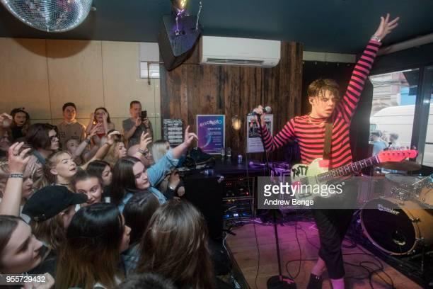 Yungblud performs at Oporto during Live At Leeds on May 5 2018 in Leeds England