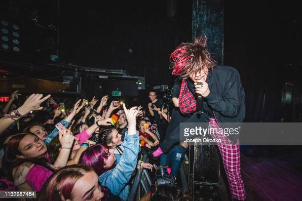 Yungblud performs at The Haunt on March 24 2019 in Brighton England
