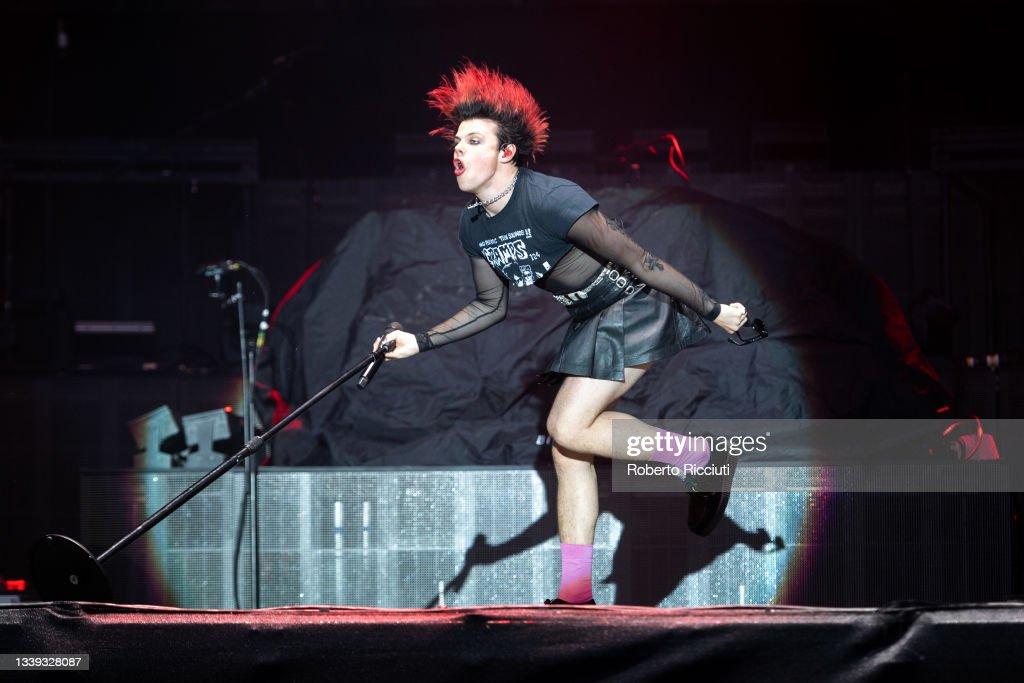 Biffy Clyro Perform At Glasgow Green, Glasgow : News Photo