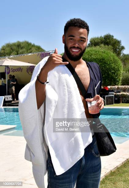 Yungen attends as Spotify Premium throws the ultimate party in Spain for Stormzy's 25th birthday on July 26 2018 in Menorca Spain