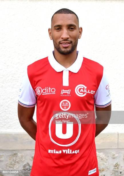Yunis Abdelhamid during Photoshooting of Stade de Reims for new season 2017/2018 on September 27 2017 in Reims France