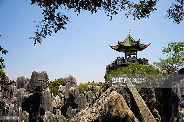 yunnan,stone forest - south china stock pictures, royalty-free photos & images