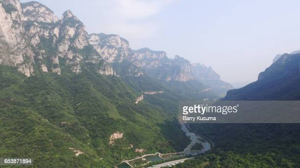 yuntai mountain. - henan province stock pictures, royalty-free photos & images