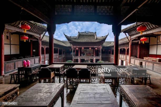 Yuntai Mountain temple of Anshun City,Guizhou Province,China