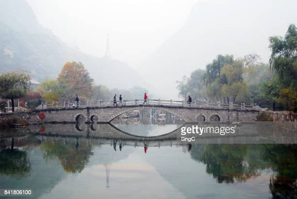 yuntaishan - henan province stock pictures, royalty-free photos & images