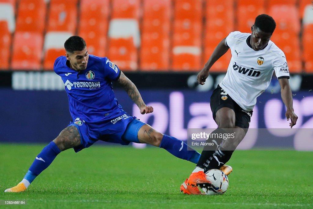 Valencia CF v Getafe CF - La Liga Santander : News Photo