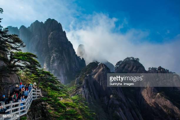 Yuping scenic, Huangshan mountain range