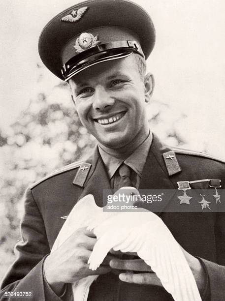 Yuri Alekseyevich Gagarin Soviet pilot and cosmonaut He was the first human to journey into outer space when his Vostok spacecraft completed an orbit...