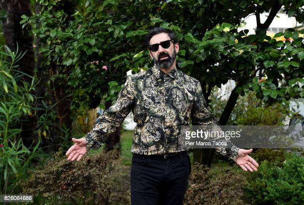 Yuri Ancarani poses during the Pardi di Domani Jury Photocall during the 70th Locarno Film Festival on August 3 2017 in Locarno Switzerland