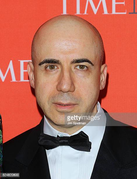 Yuri Milner attends the 2016 Time 100 Gala at Frederick P Rose Hall Jazz at Lincoln Center on April 26 2016 in New York City