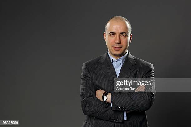 Yuri Milner of DST and Facebook poses during a portrait session at the Digital Life Design conference at HVB Forum on January 26 2010 in Munich...