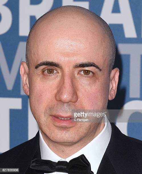 Yuri Milner of DST Global attends the Red Carpet at the 5th Annual Breakthrough Prize Ceremonyat NASA Ames Research Center on December 4 2016 in...
