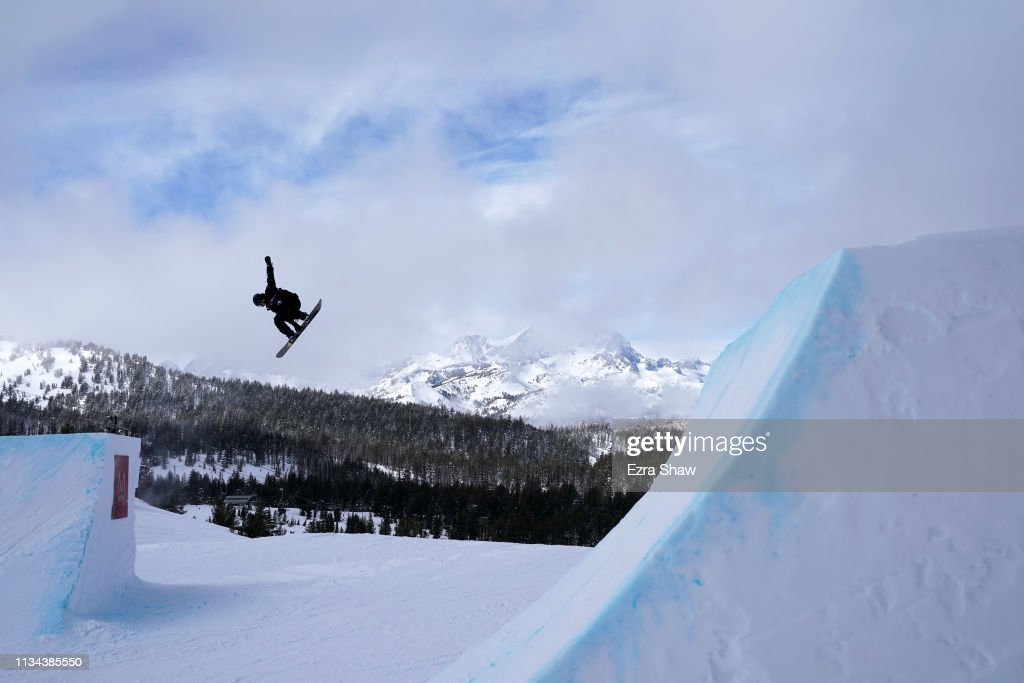 CA: 2019 U.S. Grand Prix at Mammoth Mountain - Snowboard Slope Style Qualifiers