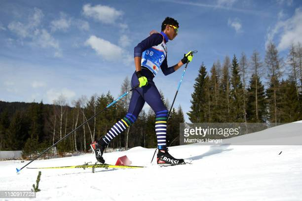 Yuri Rocha of Brazil during the Men's 10km Individual Classic Qualification Cross Country Race ahead of the Stora Enso FIS Nordic World Ski...