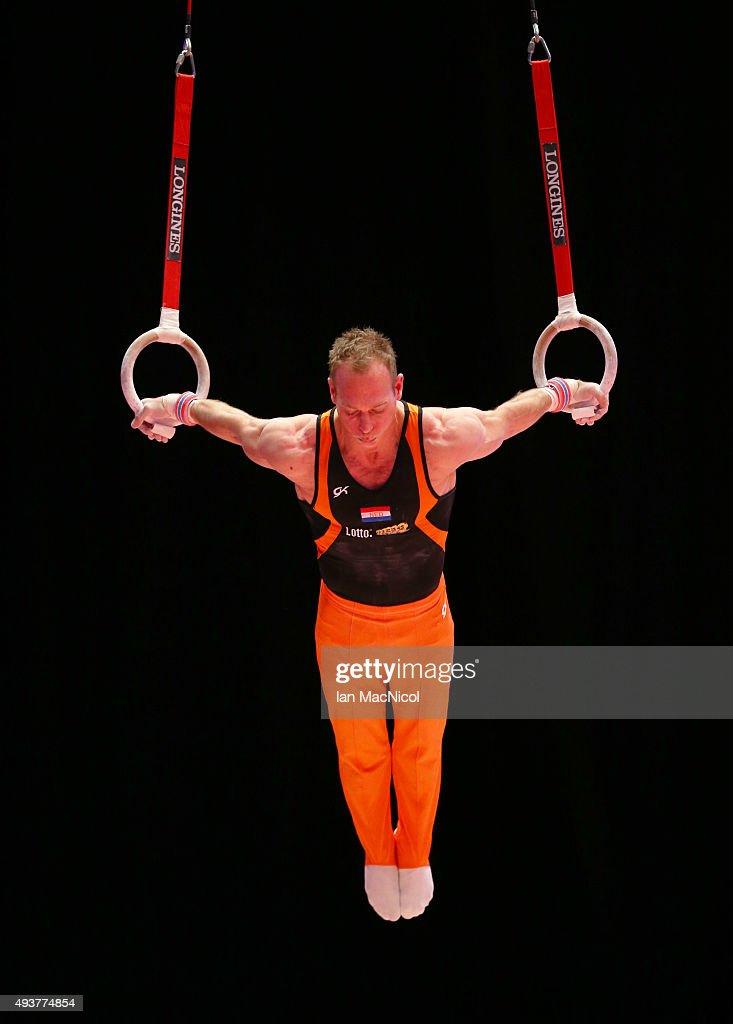 2015 World Artistic Gymnastics Championships Media Session : News Photo