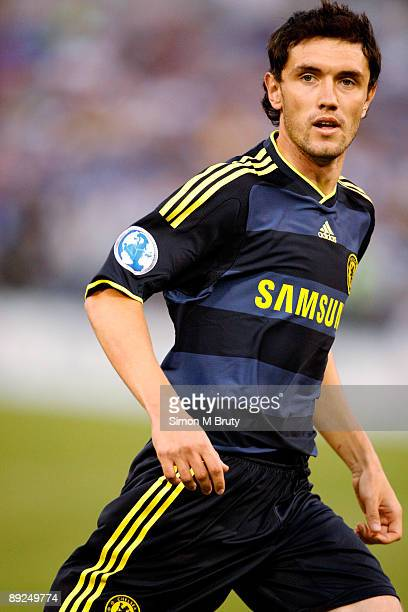 Yuri Zhirkov of Chelsea during the pre-season friendly match between AC Milan and Chelsea at M&T Bank Stadium on July 24, 2009 in Baltimore, Maryland.