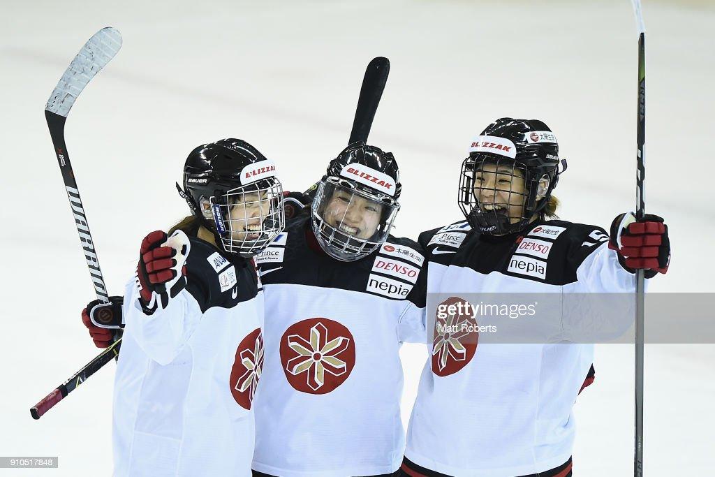 Japan v Germany - Women's Ice Hockey International Friendly : ニュース写真