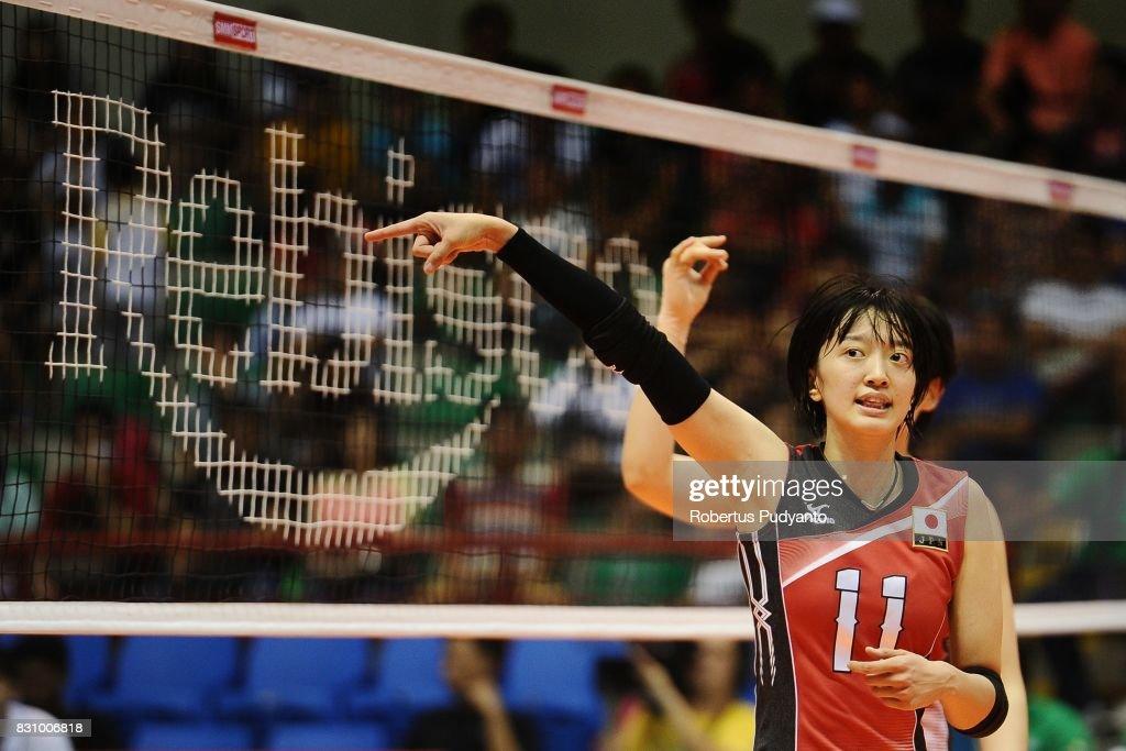 19th Asian Senior Women's Volleyball Championship 2017 : ニュース写真