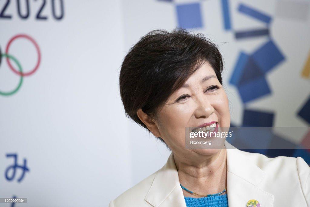 Tokyo Governor Yuriko Koike Questions Daylight Savings Time for 2020 Olympics