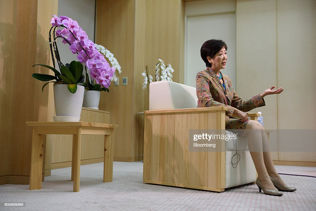 Tokyo Governor Yuriko Koike Interview