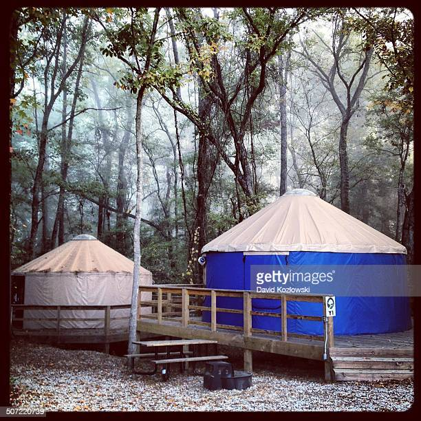 Yurts Glamping Cabin Catherine's Landing Resort Hot Springs National Park Arkansas 2012