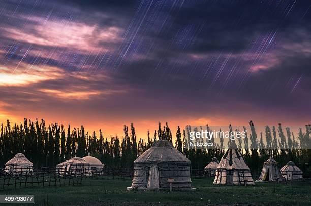 Yurts in Inner Mongolia