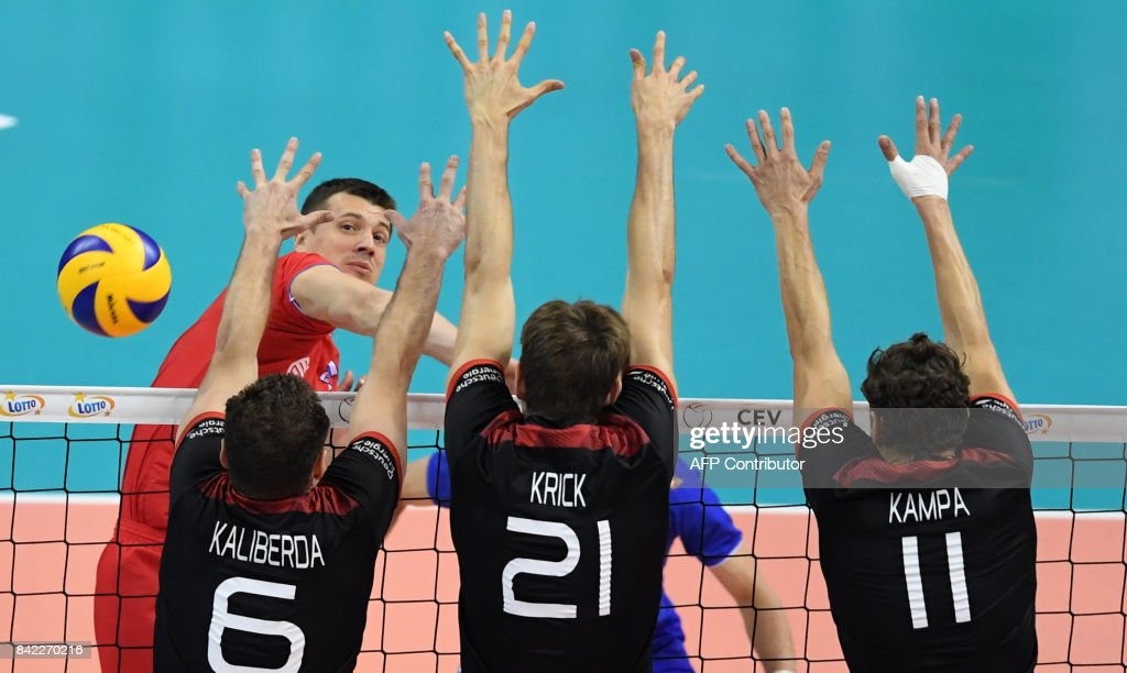 Image result for germany vs russia volleyball 2017