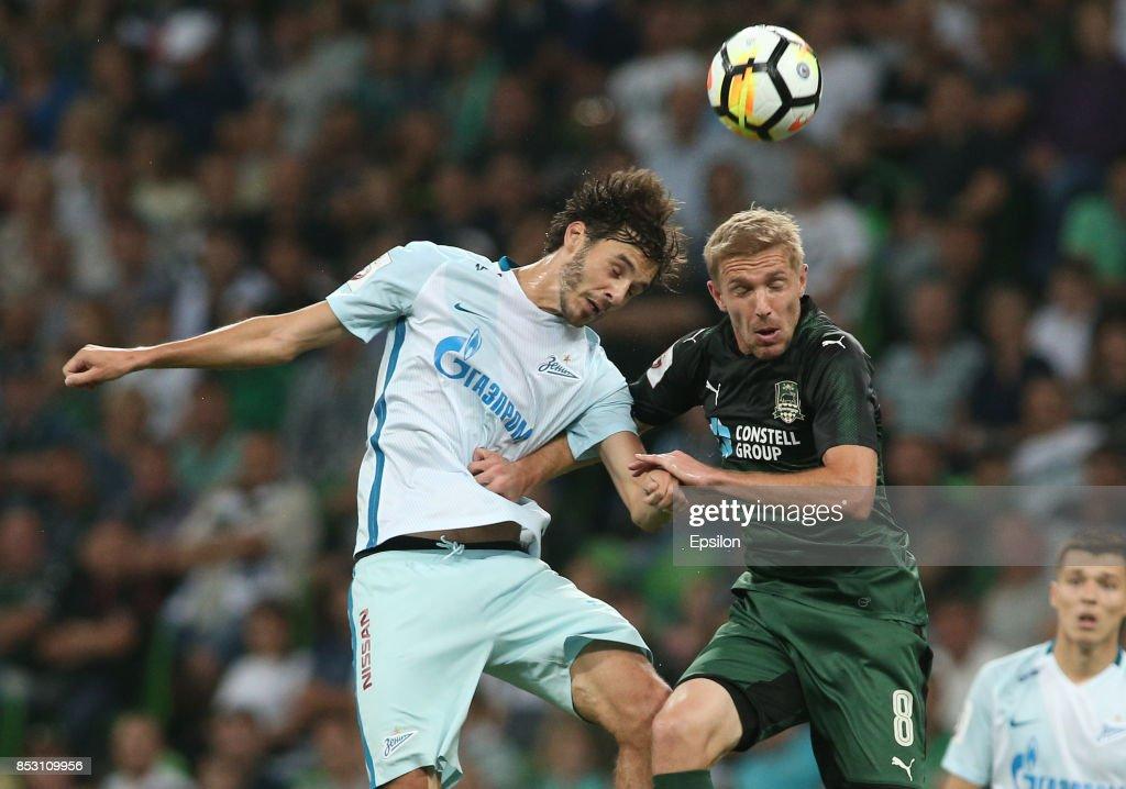 FC Krasnodar vs FC Zenit Saint Petersburg - Russian Premier League