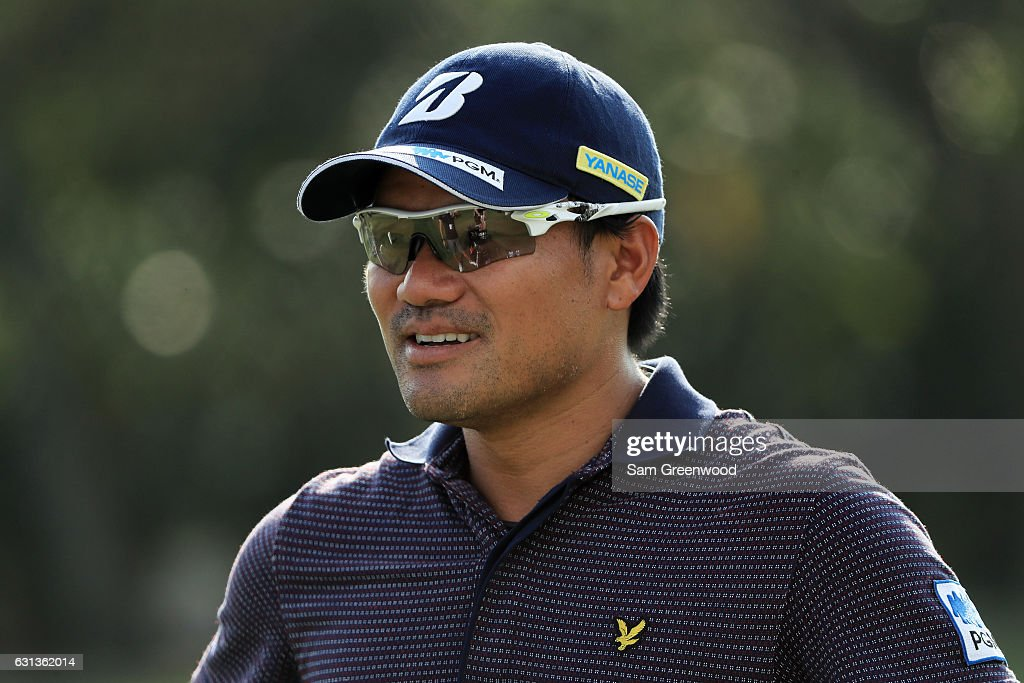 Yusaku Miyazato of Japan during practice rounds prior to the Sony Open In Hawaii at Waialae Country Club on January 9, 2017 in Honolulu, Hawaii.