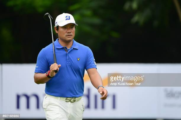 Yusaku Miyazato of Japan pictured during round one of the 2017 Indonesian Masters at Royale Jakarta Golf Club on December 14 2017 in Jakarta Indonesia