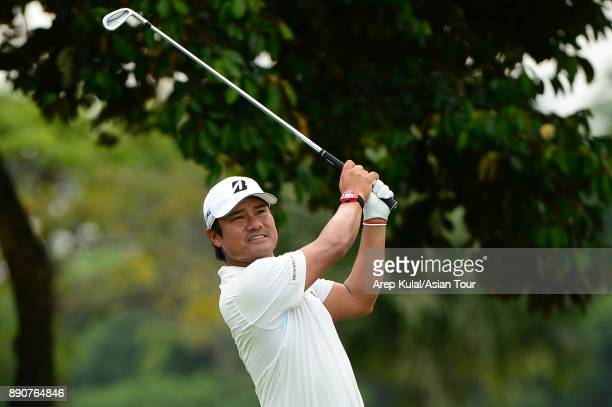 Yusaku Miyazato of Japan pictured during the Pro Am tournament ahead of the Indonesian Masters 2017 at Royale Jakarta Golf Club on December 12 2017...
