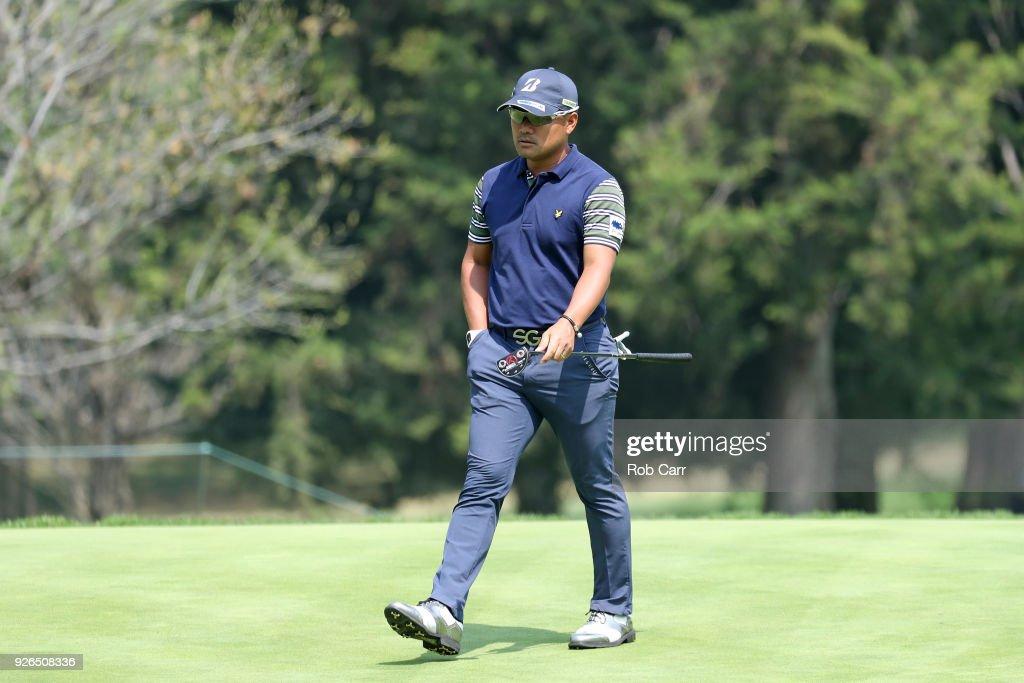 World Golf Championships-Mexico Championship - Round Two : News Photo