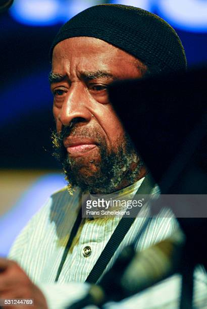 Yusef Lateef, flute, performs at the North Sea Jazz Festival in Ahoy on July 14th 2006 in Rotterdam, Netherlands.