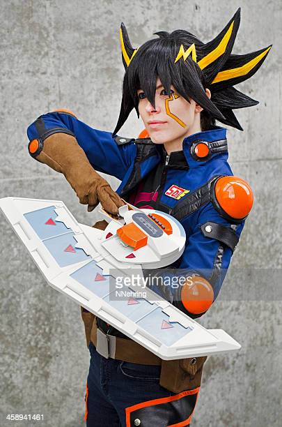 Yusei Fudo from Yugioh