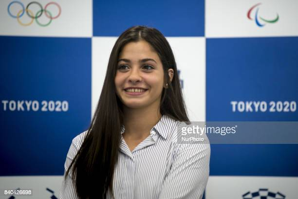 Yusra Mardini, a 19 year-old Syrian swimmer who competed at the Rio 2016 Olympic Games as a member of Refugee Olympic Team and UNHCR Goodwill...