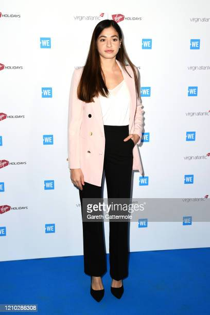 Yusra Mardini attends WE Day UK 2020 at The SSE Arena, Wembley on March 04, 2020 in London, England.
